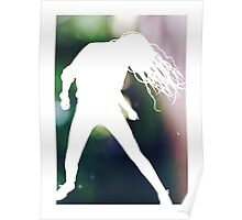 Dance Silhouette Poster