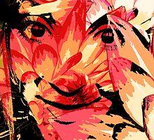 Floral Portrait by Hannah94