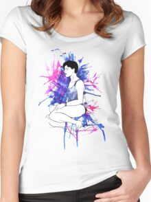 Life Drawing Women's Fitted Scoop T-Shirt