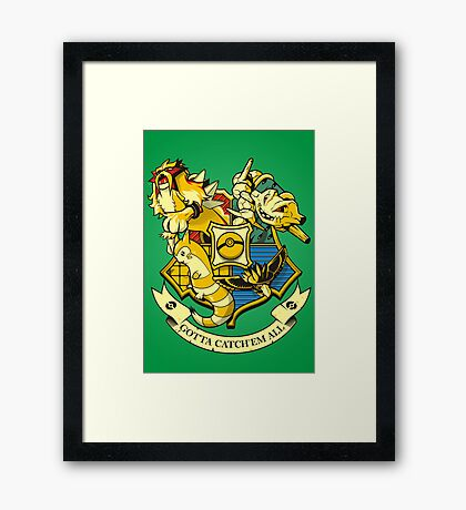 POKEWARTS Second Gen Framed Print
