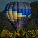 Water Below    Canberra  Balloon Spectacular 2014 by Kym Bradley