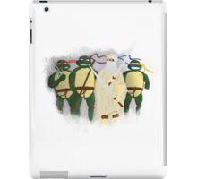 Da Vinci Turtles iPad Case/Skin