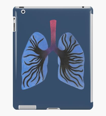 Infected Lungs iPad Case/Skin
