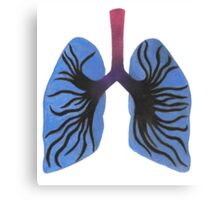 Infected Lungs Canvas Print
