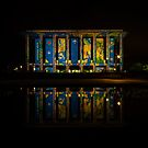 National  Library 3  Canberra Enlighten  2014 by Kym Bradley
