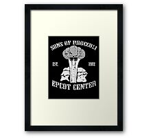Sons Of Cool Broccoli Framed Print