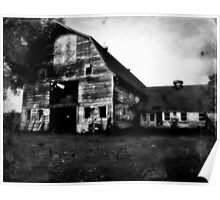 Old barn in Rural MA Poster