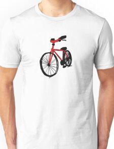 Red Bicycle Unisex T-Shirt