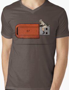 USB Rider Mens V-Neck T-Shirt