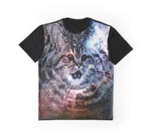 Existential Crisis Cat Graphic T-Shirt