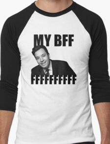 My BFF FFFFFFFFFF Men's Baseball ¾ T-Shirt
