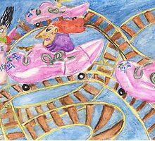 Roller Coaster Bonanza by pinkyjainpan