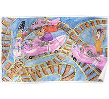 Roller Coaster Bonanza Poster