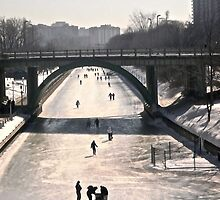 Rideau Canal, Ottawa, ON.  Canada by Shulie1