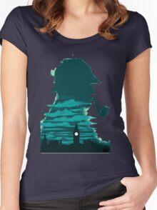 Sherlock Holmes Women's Fitted Scoop T-Shirt