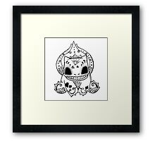 Bulbasaur de los Muertos | Pokemon & Day of The Dead Mashup Framed Print
