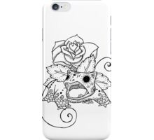 Venusaur de los Muertos | Pokemon & Day of The Dead Mashup iPhone Case/Skin