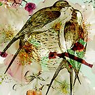 SPRING LOVE SWALLOWS by Tammera