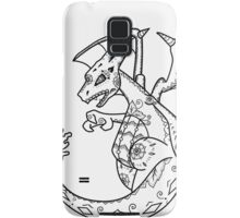 Charizard de los Muertos   Pokemon & Day of The Dead Mashup Samsung Galaxy Case/Skin