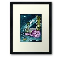 Eclipse of a Parallel Universe. Framed Print