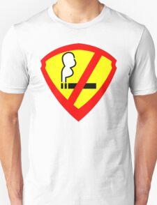 Super Anti Smoking Hero Unisex T-Shirt