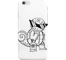 Squirtle de los Muertos   Pokemon & Day of The Dead Mashup iPhone Case/Skin