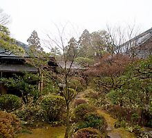 japanese temple gardens by photoeverywhere