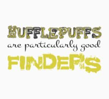 Hufflepuffs are particularly good finders by kltj11