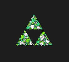 Triforce Rupees by lillianhong