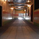 Passage leading up to the City Square. by Forfarlass