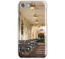 Main Street Cafe iPhone Case/Skin