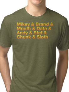 Never Say & Tri-blend T-Shirt