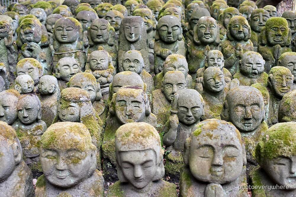Otagi Nenbutsu-ji Sculptures by photoeverywhere