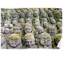 Otagi Nenbutsu-ji Sculptures Poster