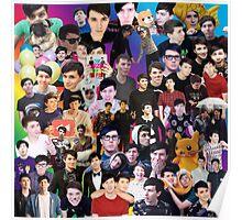 Phan Collage #3 Poster