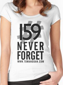 Jimmy Ruined The Show #159NeverForget Women's Fitted Scoop T-Shirt