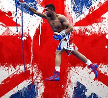 Amir Khan Boxing British  by RighteousOnix
