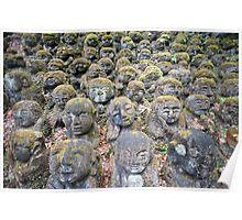 Otagi Nenbutsu-ji stone figures Poster