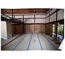 Ryoan-ji interior Poster
