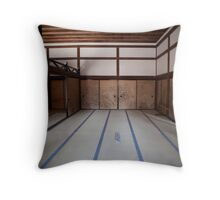 Ryoan-ji interior Throw Pillow