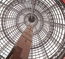 Melbourne Central tower by Esther Frieda