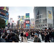 shibuya crossing Photographic Print