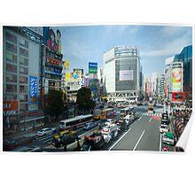 shibuya traffic Poster