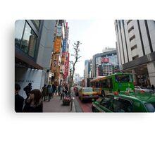 shibuya tokyo Canvas Print
