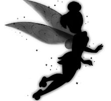 Tinkerbell Silhouette by llllllll8