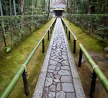 Koto-in (Daitoku-ji) footpath by photoeverywhere