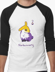 Original Nonbunnary Men's Baseball ¾ T-Shirt