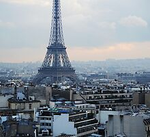 The View from the Arc de Triumph by Kyle Myburgh