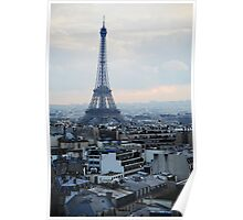 The View from the Arc de Triumph Poster