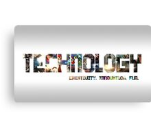 Technology and Gaming Canvas Print